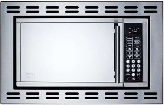 Summit OTR24 24 Inch Stainless Steel Microwave Oven