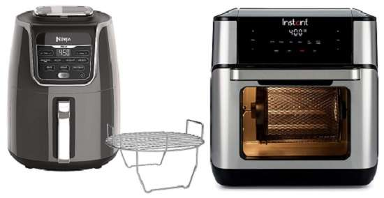 What Are The Similarities And Differences Between Ninja Air Fryer Max XL Vs Instant Vortex Plus