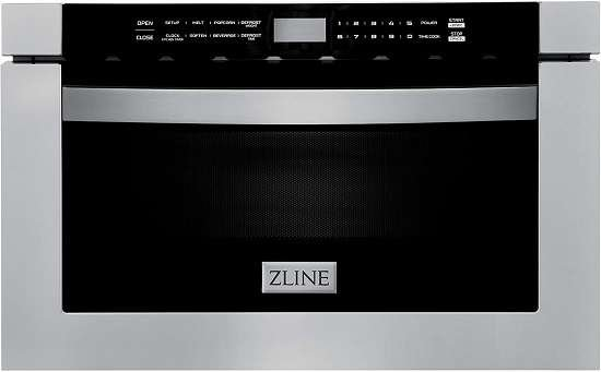 "ZLINE 24"" Built-in Microwave Drawer in Stainless Steel"