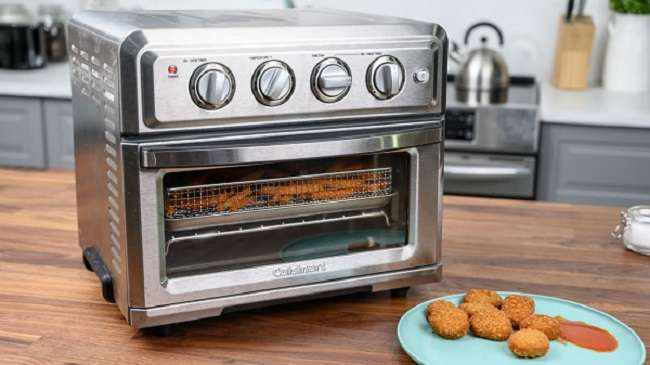 How To Pre Heat Cuisinart Digital Air Fryer Toaster Oven Overnighter