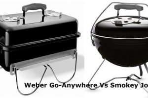 Weber Go-Anywhere Vs Smokey Joe