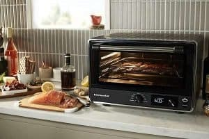 What Are The Key Features Of KitchenAid KCO124BM Digital Convection Oven