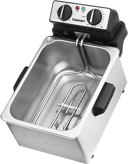 What is the Key Features of Cuisinart Cdf-200p1 Deep Fryer