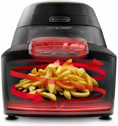 Key Features Of Delonghi Rapid Crisp Air Fryer