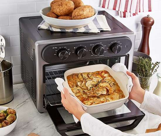 What Are The Key Features Of Dash Chef Series DAFT2350GBGT01 Convection Oven